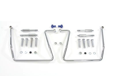 V-Twin 31-0818 - Chrome Saddlebag Support Kit