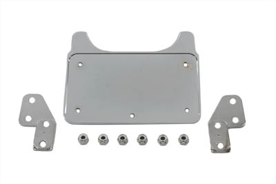 V-Twin 31-1006 - Chrome Billet License Plate Holder