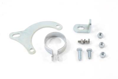 V-Twin 31-1069 - Exhaust Clamp and Bracket Set Chrome