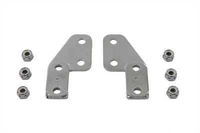 V-Twin 31-1268 - License Plate Frame Bracket Kit Billet