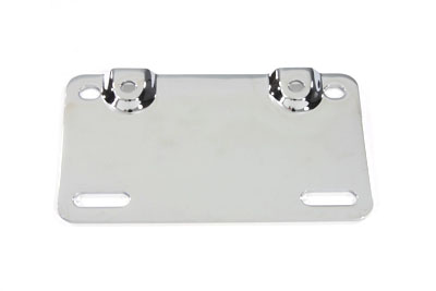 V-Twin 31-1756 - Lamp Bar Mount Plate Chrome
