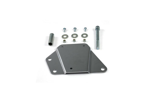 V-Twin 31-1986 - Tool Box Bracket Right Side Chrome