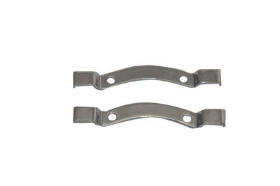 V-Twin 31-1987 - Chrome Bracket Set for Sissy Bar Pad