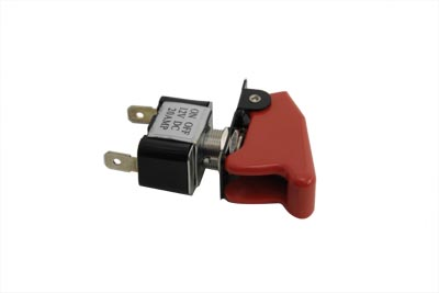 V-Twin 32-0188 - Toggle Switch 20 Amp with Red Cap