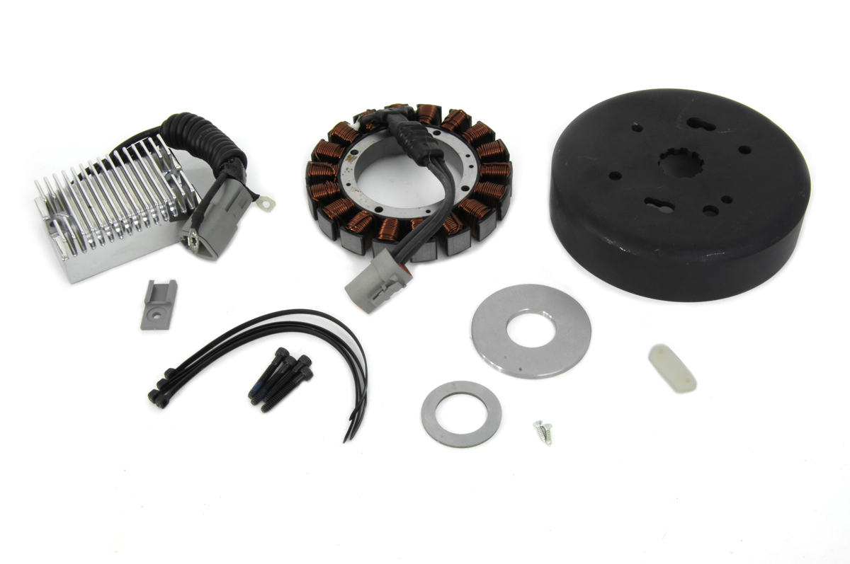 V-Twin 32-0375 - Alternator Charging System Kit 38 Amp