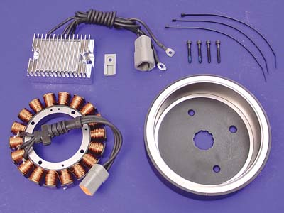 V-Twin 32-0388 - Alternator Charging System Kit 38 Amp