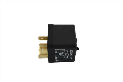 V-Twin 32-0448 - Hi-Low Beam Switch Relay