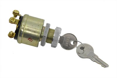 V-Twin 32-0478 - Universal 3 Position Ignition Key Switch