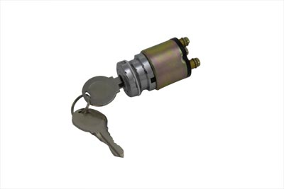 V-Twin 32-0479 - Universal 3 Position Ignition Key Switch