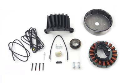 V-Twin 32-0764 - Alternator Charging System Kit 50 Amp