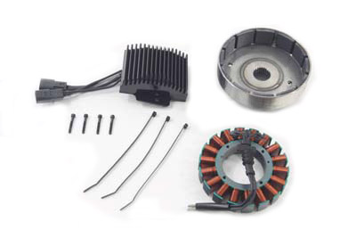 V-Twin 32-0774 - Alternator Charging System Kit 50 Amp