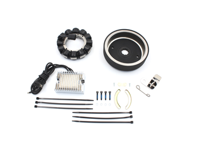 V-Twin 32-0796 - Alternator 22 Amp Charging System Kit