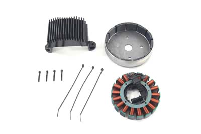 V-Twin 32-0837 - Alternator Charging System Kit 50 Amp