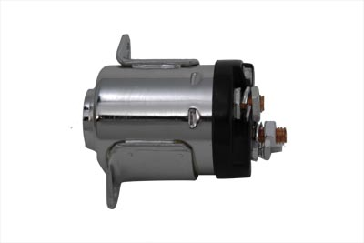V-Twin 32-1055 - Chrome 5-Speed Starter Solenoid