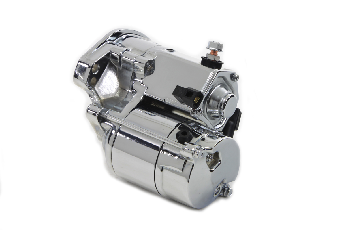V-Twin 32-1151 - Volt Tech Starter Motor 1.4kW Chrome