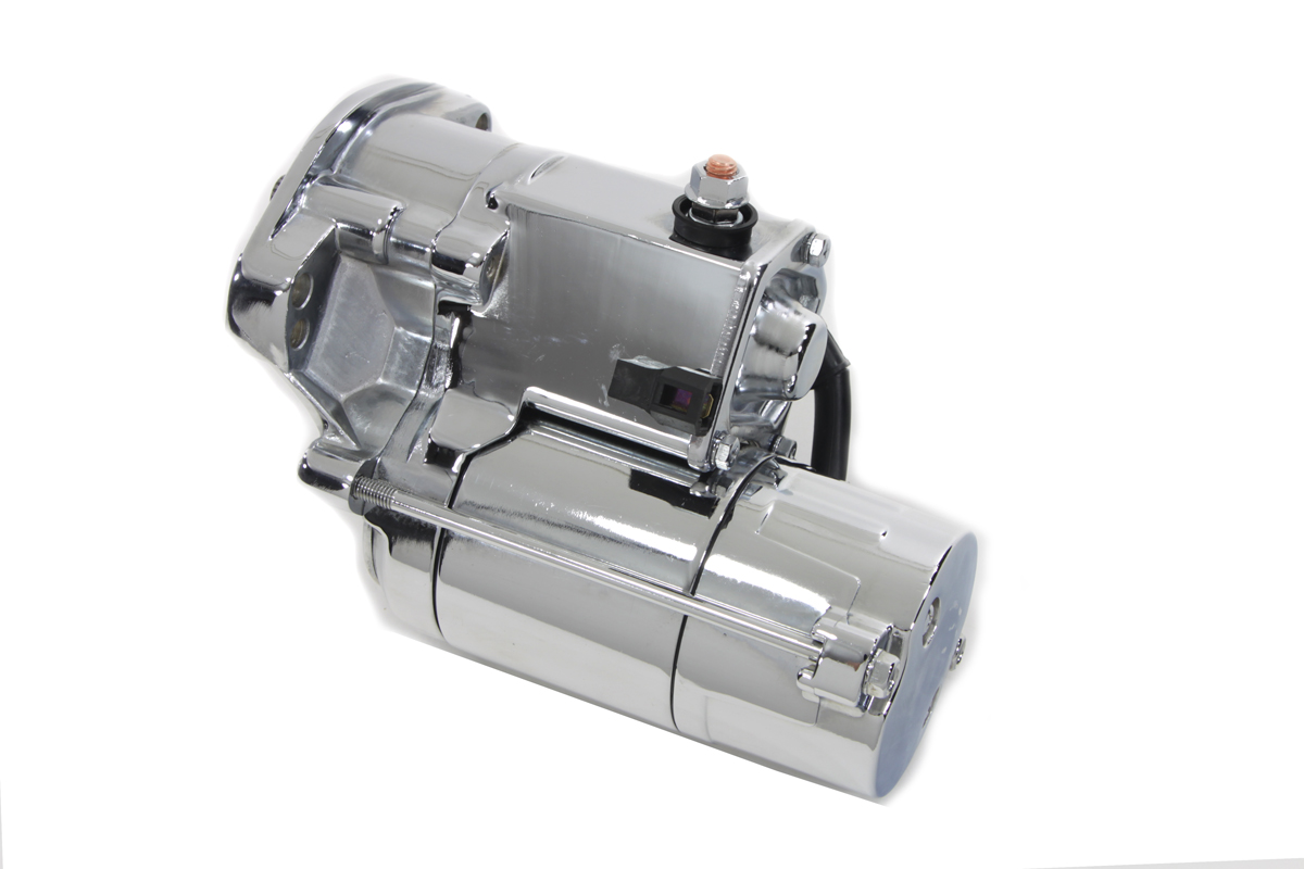 V-Twin 32-1153 - Volt Tech Starter Motor 1.8kW Chrome