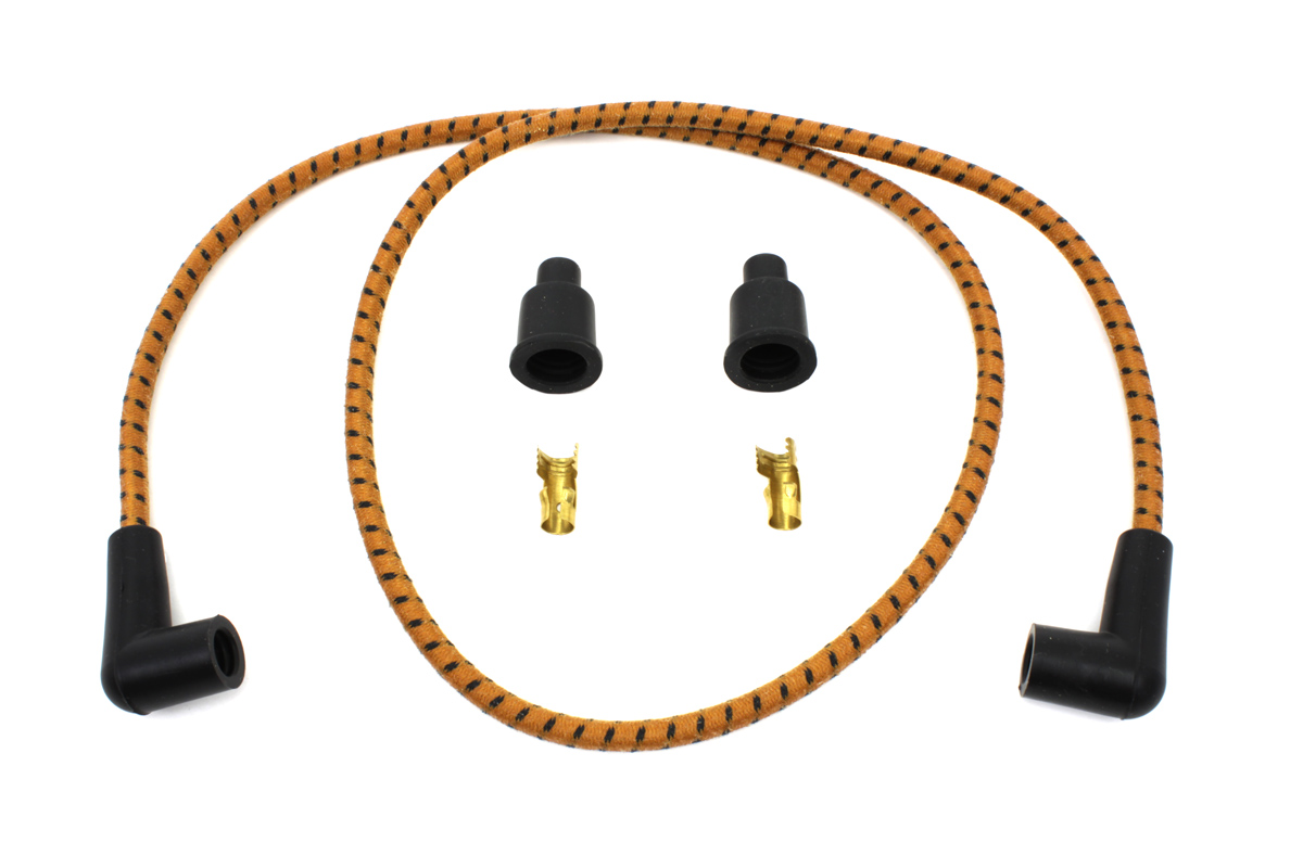 V-Twin 32-1216 - Universal Braided Wire Kit 7mm