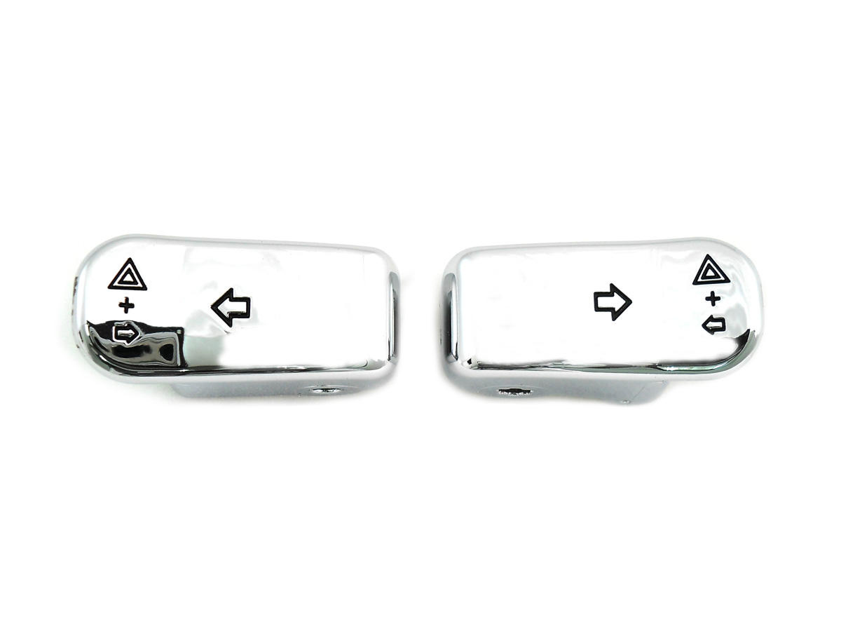 V-Twin 32-1668 - Chrome Turn Signal Extension Cap