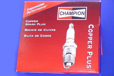 V-Twin 32-7602 - Champion Copper Plus Spark Plugs