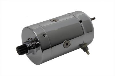 V-Twin 32-7761 - Hitachi Type Chrome Starter Motor