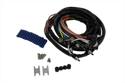 V-Twin 32-8071 - Handlebar Wiring and Black Switch Assembly
