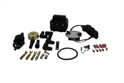 V-Twin 32-9503 - Single Fire Ignition Kit with 8.5mm Wire Diamet