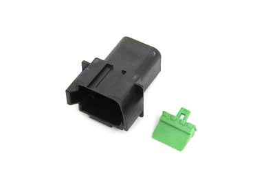V-Twin 32-9613 - Deutsch Sealed 8 Wire Connector Component