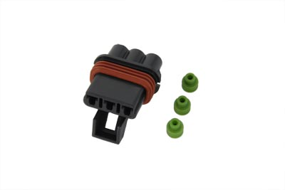 V-Twin 32-9641 - Wire Terminal 3 Wire Female Connector