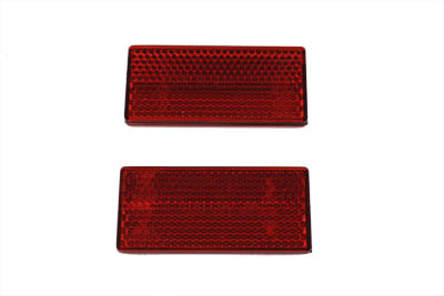 V-Twin 33-0016 - OE Red Reflector Set For Struts