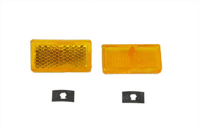 V-Twin 33-0035 - Front Amber Reflector Set