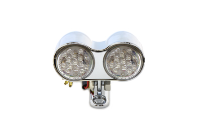 V-Twin 33-0060 - Universal Dual LED Amber Marker Lamp