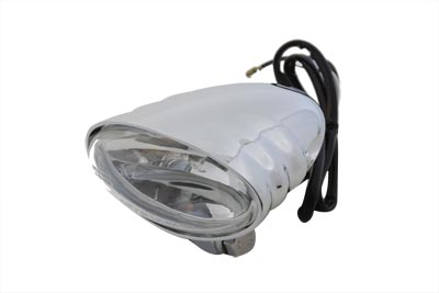 V-Twin 33-0075 - Chrome Single Beam Fog Light
