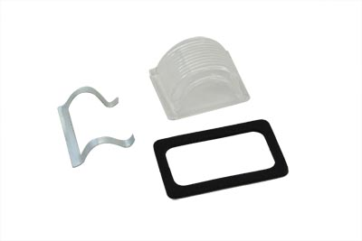 V-Twin 33-0146 - Tail Lamp Clear Plastic Top Lens Kit