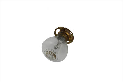 V-Twin 33-0154 - Replica 6 Volt Headlamp Bulb