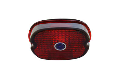 V-Twin 33-0240 - Tail Lamp Lens Laydown Style Red