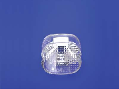 V-Twin 33-0242 - Tail Lamp Lens Laydown Style Clear