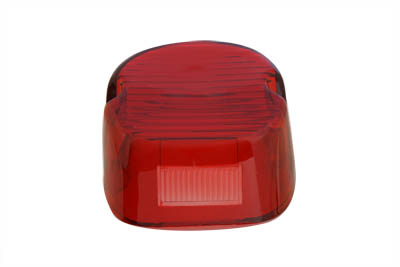 V-Twin 33-0247 - Tail Lamp Lens Laydown Style Red