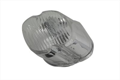V-Twin 33-0251 - Tail Lamp Lens Laydown Style Clear