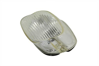 V-Twin 33-0253 - Tail Lamp Lens Laydown Style Clear