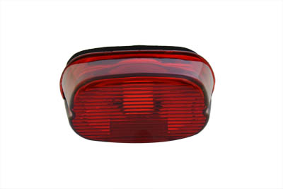 V-Twin 33-0254 - Tail Lamp Lens Laydown Style Red
