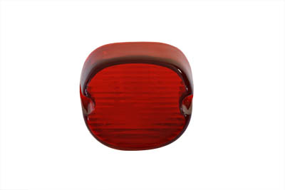 V-Twin 33-0258 - Tail Lamp Lens Laydown Style Red