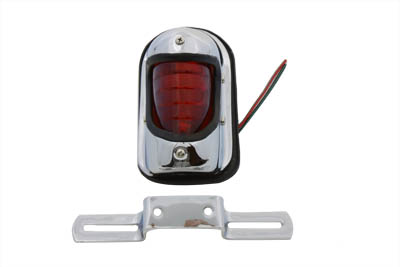 V-Twin 33-0304 - Chrome Beehive Style Tail Lamp