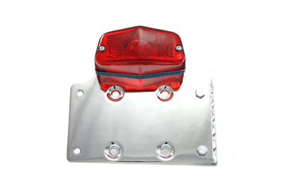 V-Twin 33-0307 - Chrome Side Mount Tail Lamp Kit
