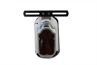 V-Twin 33-0329 - Replica Chrome Tombstone Tail Lamp