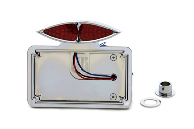 V-Twin 33-0457 - Chrome Katz Eyez LED Tail Lamp Kit Horizontal T