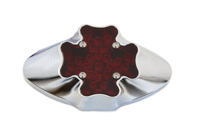 V-Twin 33-0477 - Iron Cross Oval Style Tail Lamp