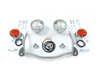 V-Twin 33-0540 - Headlamp and Spotlamp Conversion Kit