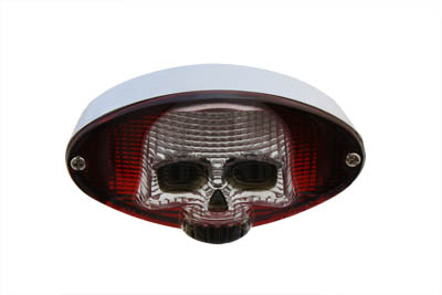V-Twin 33-0587 - Skull Cateye Bulb Type Tail Lamp