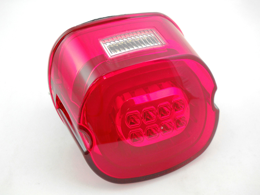 V-Twin 33-0832 - Lay Down LED Tail Lamp Red