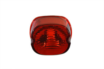 V-Twin 33-0930 - Laydown Style Red Tail Lamp Lens